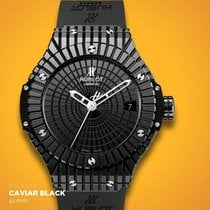 Hublot - BIG BAG CAVIAR BLACK HUB-1112 self-winding movement -...