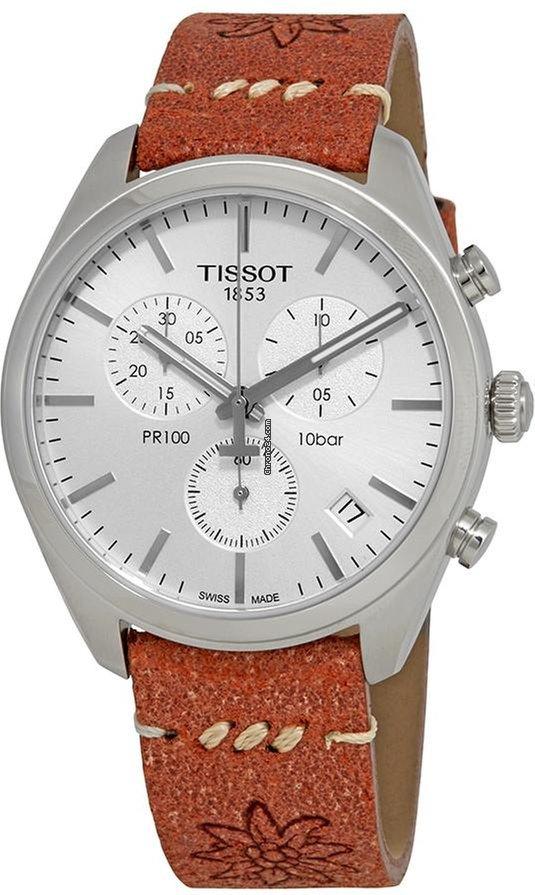 Tissot PR100GRCHRQSTEELL.SILVER LS15 T101.417.16.031.01 Herrenchronograph