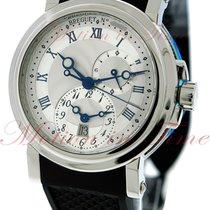 Breguet Automatic Dual Time, Silver Dial - Stainless Steel on...
