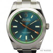 ロレックス (Rolex) ROLEX Milgauss Stainless Steel  116400GV Z-Blue