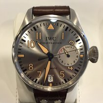 IWC Big Pilots Watch Father And Son Platinum and Steel