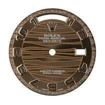 Rolex Day-Date 36mm Chocolate Wave Original Factory Dial