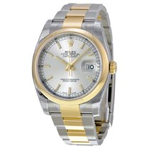 Rolex Datejust 36mm Steel/Gold Yellow Gold Domed 116203 sso