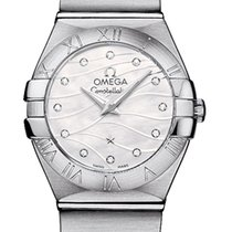 Omega Constellation Brushed 24mm 123.10.24.60.55.003