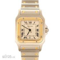Cartier Santos Medium W20011C4 Steel / Gold Papers 10/19996 D