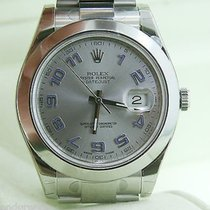 Rolex Datejust Mens 116300 41 Mm Watch Stainless Steel Silver...