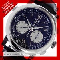 A. Lange & Söhne Double Split Flyback Chronograph Platin...