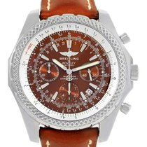 Breitling Bentley Motors T Chronograph Watch A25363 Box Papers