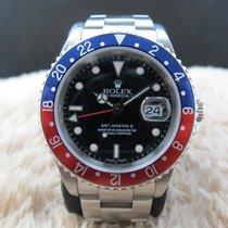 ロレックス (Rolex) GMT MASTER 2 16710 Pepsi Red/Blue Bezel SEL