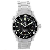 Omega Seamaster Black Wave Dial Midsize 300m Watch 2252.50.00