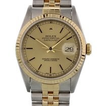 Rolex Oyster Perpetual Datejust 16233 W/ Papers