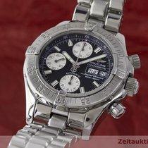 Breitling Superocean Chrono Chronograph Stahl Herrenuhr A13340