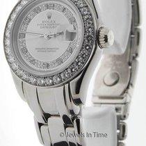 Rolex Masterpiece Automatic 18K White Gold & Diamond...