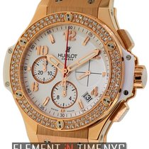 Hublot Big Bang Gold White Diamonds 41mm 18k Rose Gold