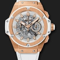 Hublot King Power Unico King Gold White 48 mm