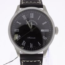 Zeno-Watch Basel Godat Automatic Black NEW