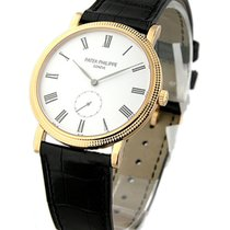 Patek Philippe 5119R Ref 5119R Calatrava with Hobnail Case in...
