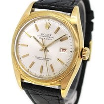 Rolex 18K Gold 6105 Oyster Perpetual DateJust