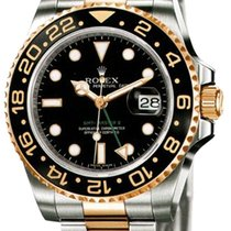 Rolex GMT Master II 40mm Steel and Yellow Gold