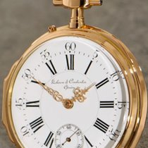 Vacheron Constantin Louis XV Case 18K Gold rare pocket watch