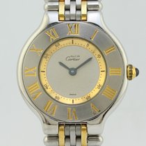 Cartier Must Quartz Steel Lady 1340