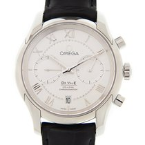 Omega De Ville Stainless Steel Silver Automatic 431.13.42.51.0...
