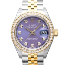 勞力士 (Rolex) Datejust Steel/Gold , Lavender Dial with Diamonds