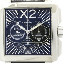 Omega Polished Omega De Ville X2 Chronograph Steel Watch...