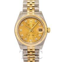 Rolex Datejust Lady 31 Steel Gold Champ Dia - 178273