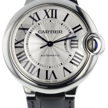 Cartier W69017Z4 Ballon Bleu Midsize Automatic Women BLK...