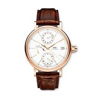 IWC IW515104 Portofino Mens Manual in Rose Gold - On Brown...