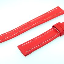 Breitling Band 16mm Red Roja Calf Strap For Ib16-37