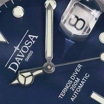 Davosa Swiss Ternos 16155540 Diver Analog Men Wrist Watch Dark...