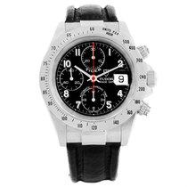Tudor Tiger Woods Prince Date Black Dial Steel Mens Watch 79280