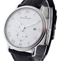 Blancpain 6606-1127-55b Villeret Ultra-Slim in Steel - on...
