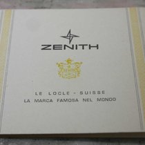 Zenith vintage warranty booklet newoldstck for chrono e diver...