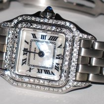 Cartier Panther Mother Of Pearl Diamonds