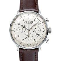 Junkers Bauhaus 6086-5 Quartz Watch Swiss Chronograph Movement...