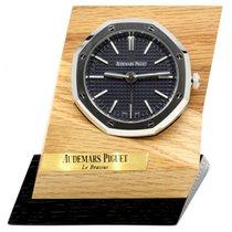 Audemars Piguet Royal Oak Alarm Desk Clock Black Tapisserie...