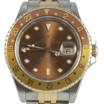 Rolex GMT Master II 16713 Red Case Bronze Dial 1995 40mm