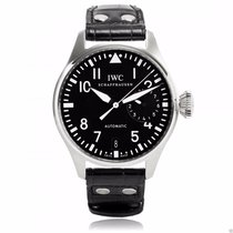 IWC Big Pilot's Watch IW500901 Stainless Steel Black Dial...