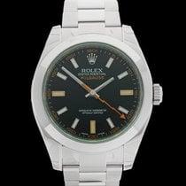 Rolex Milgauss Stainless Steel Gents 116400GV