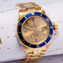 Rolex  submariner SERTI DAIL18ct Gold