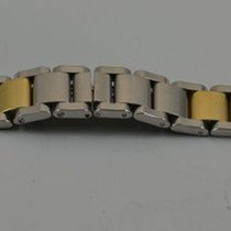 Baume & Mercier Hampton Stahl/gold Armband 16mm Top Zustand