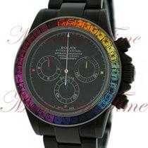 Rolex Cosmograph Daytona, Black Dial with Multi-Color Chronogr...