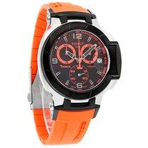 Tissot T-Race Series Mens Orange/Black Chrono Watch T048.417.2...