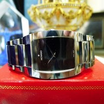 Movado 89 C6 1453 Fiero Tungsten Carbide Sapphire Crystal...