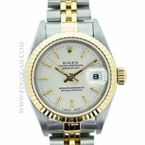 Rolex stainless steel and 18k yellow gold ladies Datejust