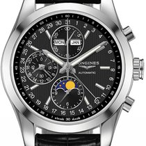 Longines Conquest Classic Chronograph Moonphase 42mm l2.798.4....