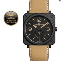 Bell & Ross - Black Dial Beige Calfskin Leather
